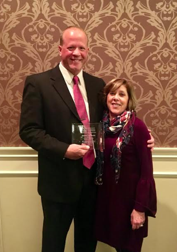 Caley Principal Receives Statewide Honor