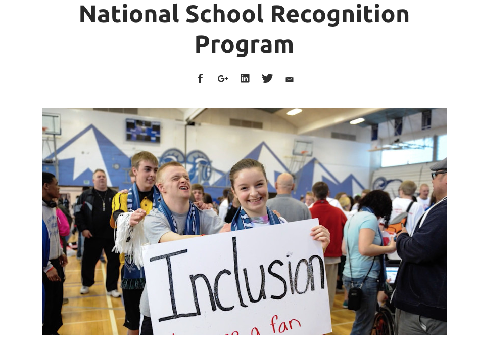UMAHS Named National Banner Unified Championship School