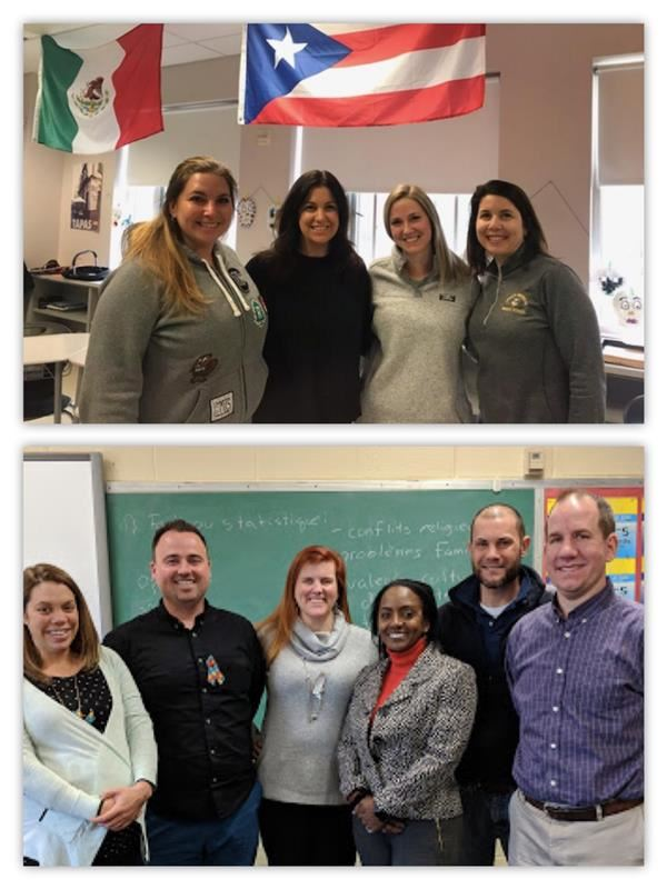 World Languages Department Receives Silver Globe Award