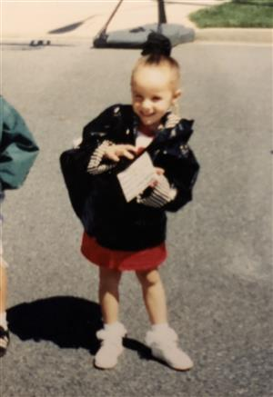 Me on my first day of Kindergarten!